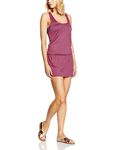 Splendid Malibu Stripe Dress, Robe Femme Rose - Rose