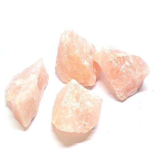 Medium Natur Rough Pink Heilung Rosenquarz Kristall Gem Stone–Stein der bedingungslosen Liebe–Versandkostenfrei.