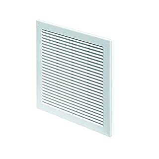 Air Vent Grille Cover 150 x 150mm (6 x 6inch) White Ventilation Cover