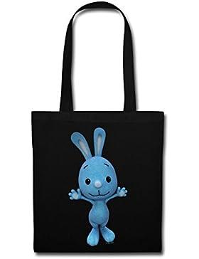 KiKANiNCHEN Kaninchen Winkt Mit Den Pfoten Stoffbeutel von Spreadshirt®