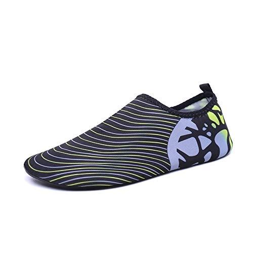 Apparecchio Scarpe Sportive Scarpe da Nuoto Estivi ad Asciugatura Rapida Scarpe Anti-Taglio for Adulti Scarpe da Yoga Scarpe da Salto Scarpe da Arrampicata all'aperto (Color : C, Size : 41)