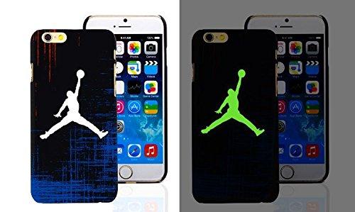 RONNEY'S Air Jordan Luminous PC BLACK Hard Case for Apple Iphone 7 DESIGN 16 Design 6