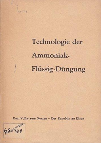 Technologie der Ammoniak-Flüssig-Düngung