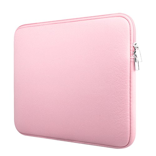 Custodia Protettiva Sleeve Case Borsetta per Laptop / Notebook / Macbook Air / Macbook Pro / Macbook Pro Retina Pink 13 Pollici