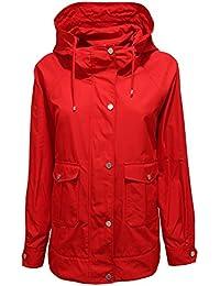 MaxMara 7901V giubbotto donna WEEKEND soprabito red jacket woman c3e44d48e06