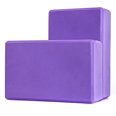 Kottle 2 Pack Yoga Blöcke High Density EVA Foam Blocks Yoga Pilates Strecken Trainingsgerät
