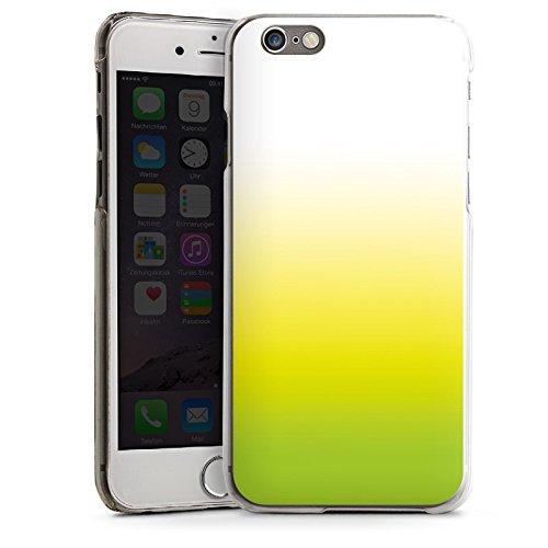 Apple iPhone 5s Housse étui coque protection Vert Jaune Blanc CasDur transparent