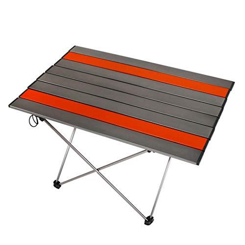 Liudan-Tische Tragbarer Klapptisch im Freien ultraleichte Struktur Aluminiumlegierung Camping Klapptisch Möbel Picknicktisch (Größe : L)