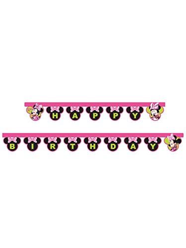 Disney 53821 Fahne (Minnie Happy Maus Birthday)