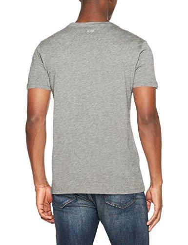 BOSS Casual Herren T-Shirt Grau (Medium Grey 030)