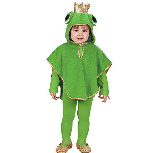 üm Kinder Froschkostüm 110 cm 3-4 Jahre Froschkönig Poncho Kapuzenponcho Frog Tier Kinderkostüm Märchen Tierkostüm Kapuzencape Karnevalskostüme Kleinkinder (Kleiner Frosch Kleinkind & Kleinkind Kostüme)