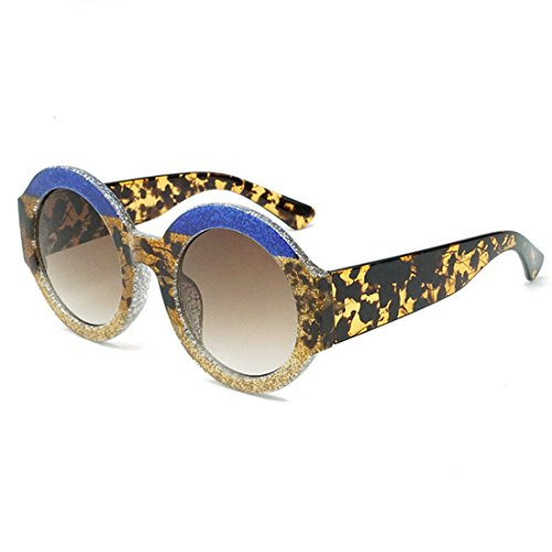GCC Die Sonnenbrille dreifarbige Kasten rund Farbe LCD-Sonnenbrille, G