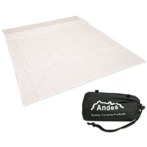 Andes Polycotton Double Sleeping Bag Liner Inner Camping Sheet