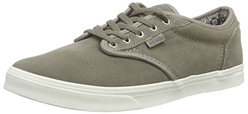 Vans W Atwood Low Suede, Baskets Basses Femme Gris ((suede) Brin