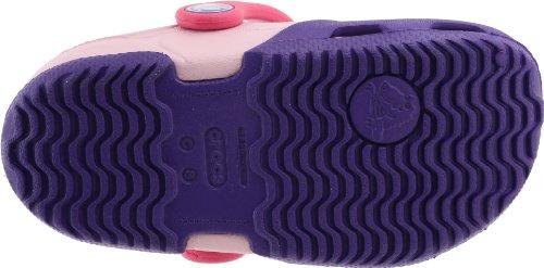 Crocs Electro II Clog K -  Zoccoli e sabot, unisex per bambino Ultraviolet/Bubblegum