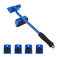 طقم ادوات رفع وتحريك الاثاث الثقيل من 5 قطع (4 زلاقات) من رولكس اسي 1#