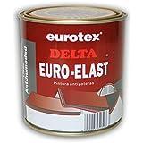 Impermeabilizante antigotera Delta Euroelast es una pintura elástica transparente de máxima calidad para tipo de cubiertas y azoteas transitables. - 750 ml -
