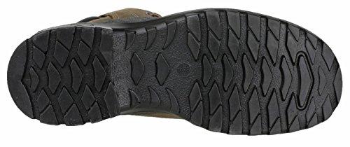 Base BO186 Geldorf S3 SRC Mens Classic antidérapante lacé botte de sécurité Marron