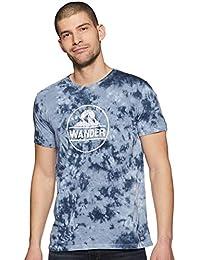 Indigo Nation Street Men's Tie-Dye Slim Fit T-Shirt