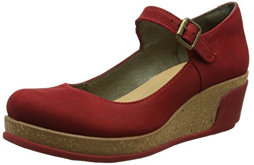 El Naturalista S.A N5004 Pleasant Leaves, Damen Mary Jane Schuhe, Rot (Tibet), 37 - Mary Rot Damen Jane-schuhe