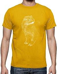 latostadora - Camiseta Nutria Blanca para Hombre