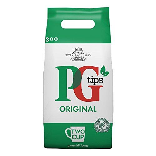 PG Tips schwarzer Tee, 1er Pack (1 x 750 g) 300 Beutel