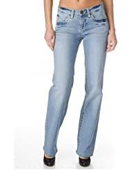 H.i.s jeans hIS - 133–10–759 jean w206 bleach used super jeans hIS-lindsay 111–10–205 tailles différentes