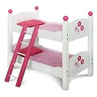 CHIC 2000 - Letto a castello per bambine, design floreale