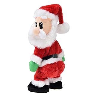 Muñeco de Papá Noel Que Baila Estilo Twerking, de lux.pro, con música, decoración de Navidad