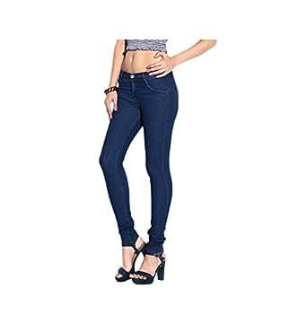 GANGA Women's Denim Slim Fit Jeans