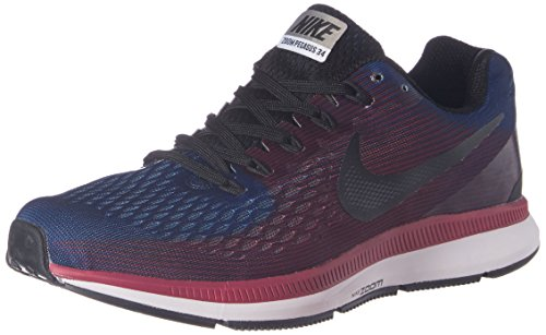 Nike Men's Air Zoom Pegasus 34 Blue Running Shoes - 7 UK/India (41 EU)(8 US)(880555-006)  available at amazon for Rs.4599
