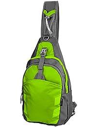LC Prime Sling Bag Chest Shoulder Unbalance Gym Fanny Backpack Sack Satchel Outdoor Bike