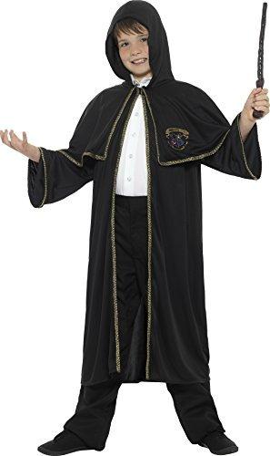 childrens-wizard-cloak-boys-girls-sorcerer-fancy-dress-costume-age-7-8-9-10-11-12-13-14-tween-12-t-1