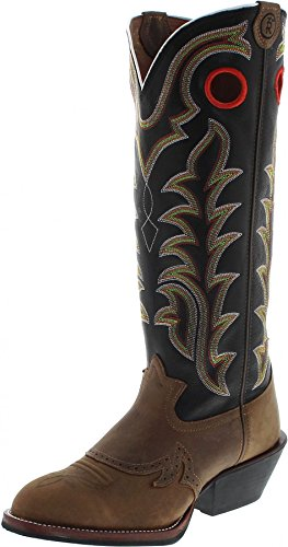 Tony Lama RR1002 EE Tan/ Herren Westernreitstiefel Braun/ Herrenstiefel/ Reitstiefel/ Western Riding Boots, Groesse:42.5 (9.5 US) (Tony-lama-stiefeln)