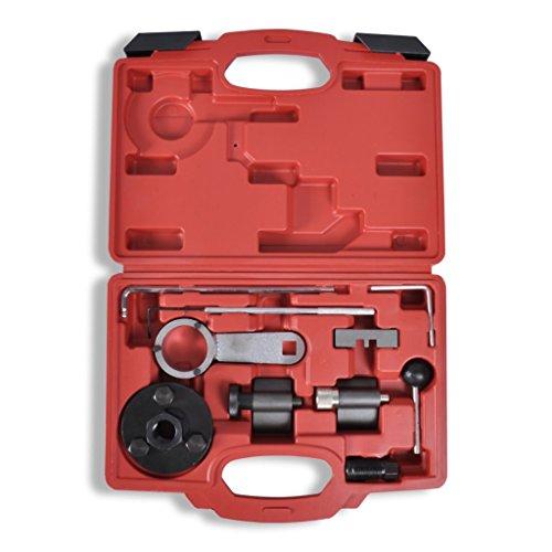 Festnight Kit d'Outils de Calage de Distribution VAG 1.6 et 2.0 TDI 33 x 31 x 23,5cm pas cher