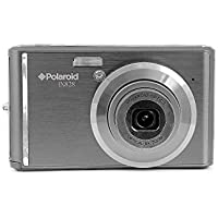 Polaroid Digitalkamera IX828N-BLK 20MP mit optischem Zoom, 8x grau