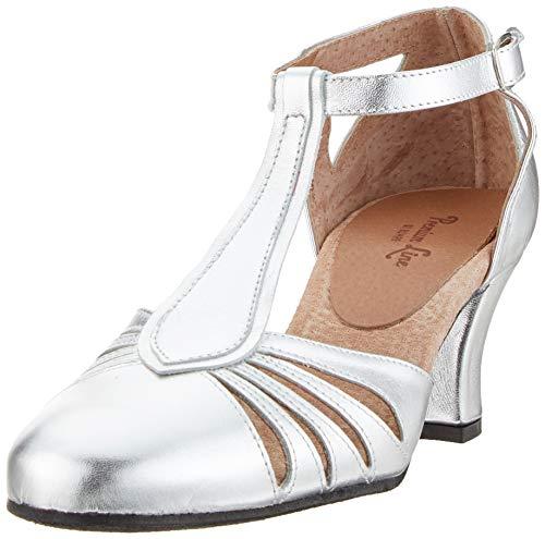 Rumpf 9210 Tanzschuhe Silber/Silber, EU 39 GB 5.5
