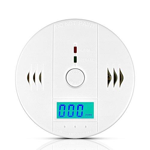 Apriller CO Alarme LCD Détecteur de Monoxyde de Carbone Tester Haute Sensitive avertisseur d'incendie Détecteur de fumée détecteur pour la sécurité domicile