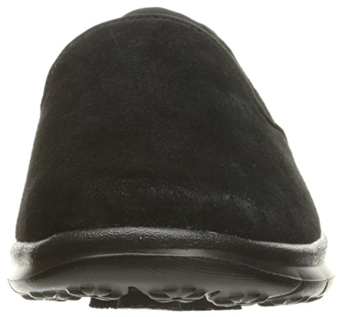 Skechers Go Step-Cheery Rund Wildleder Slipper Black ...
