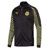 Puma Herren BVB Stadium Jacket Without Sponsor Logo Jacke, Black, M