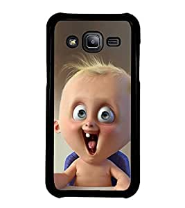 Fuson Designer Back Case Cover for Samsung Galaxy J5 (2015) :: Samsung Galaxy J5 Duos (2015 Model) :: Samsung Galaxy J5 J500F :: Samsung Galaxy J5 J500Fn J500G J500Y J500M (small Child child table Hungry child cute child)