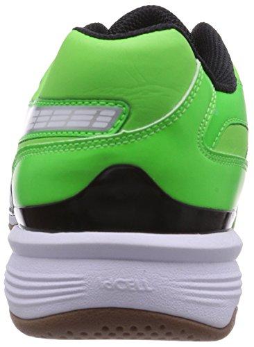 Puma Agilio LT Herren Hallenschuhe Grün (fluo green-white-black 03)