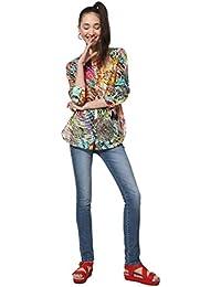 8a85e3f947b Amazon.es  Desigual - Blusas y camisas   Camisetas