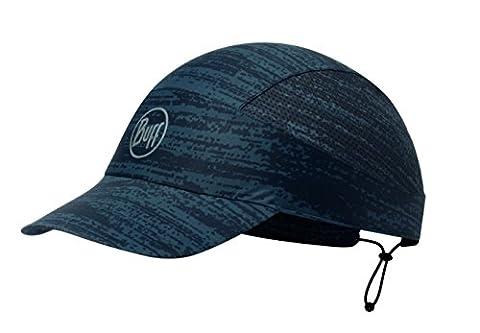 BUFF® SET - PACK RUN CAP + UP® Ultrapower Tissu tubulaire | Bonnet avec visière | Pliable | Odeur résistant | Protection UV | Antibactérien | Respirante | Courir, Buff Original Design:R-INTERFERENCE GARGOYLE - 113708.910.10.00