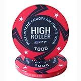 Fiches Ceramica EPT High Roller Replica Valore1000