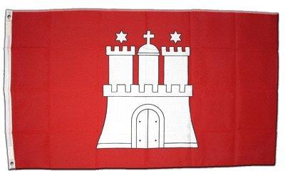Flagge Deutschland Hamburg - 60 x 90 cm