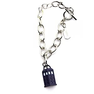 Doctor Who Tardis Pendant Charm Bracelet