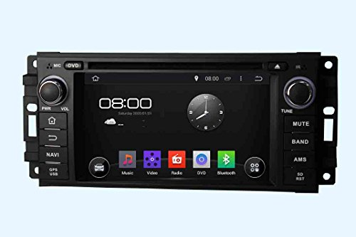 Android 6.0 Octa Core 1024 * 600 Auto DVD GPS Navigation Multimedia-Player Auto Stereo für Jeep sebring2006 300 C 2005 2006 2007 Grand Cherokee 2010 Kompass 2010 Wrangler 2010 Journey 2010 Radio Lenkradsteuerungsübernahme mit 3 G Wifi Bluetooth gratis SD-Karte - 2005 Jeep Stereo Cherokee