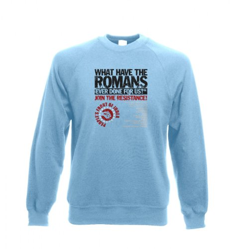 Was haben die Römer - Judäische Volksfront T-Shirt für Erwachsene Tragetasche Sky Blue