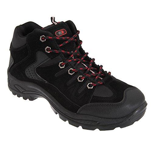 Botas Pretas Ontário Trekking Sapatos Dek Homens Botas Caminhadas De Caminhada z7Px5qw8